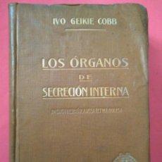 Libros antiguos: ANATOMÍA - LOS ORGANOS DE SECRECIÓN INTERNA 1922. Lote 221676828