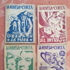 Libros antiguos: LOTE DE LA NOVELA CORTA. Lote 221681395