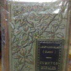 Libros antiguos: LEOPOLDO ALAS«CLARIN».CUENTOS MORALES.1896.LA ESPAÑA EDITORIAL. Lote 221733175