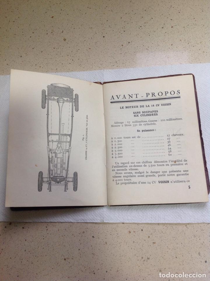 Libros antiguos: LA 14 CV VOISIN. SON ENTRETIEN. AVANT-PROPOS - Foto 7 - 221761878