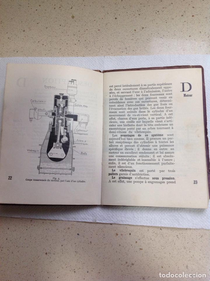 Libros antiguos: LA 14 CV VOISIN. SON ENTRETIEN. AVANT-PROPOS - Foto 11 - 221761878