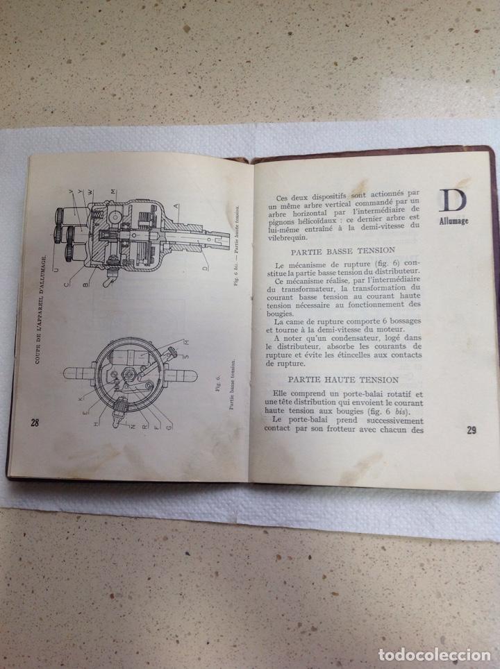 Libros antiguos: LA 14 CV VOISIN. SON ENTRETIEN. AVANT-PROPOS - Foto 13 - 221761878