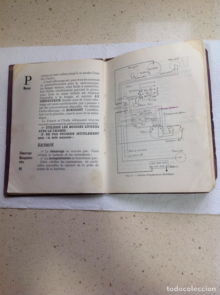 Libros antiguos: LA 14 CV VOISIN. SON ENTRETIEN. AVANT-PROPOS - Foto 15 - 221761878