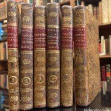 Libros antiguos: SANCHO SALDAÑA Ó EL CASTELLANO DE CUELLAR. JOSÉ DE ESPRONCEDA. Lote 221775532