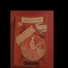 Libros antiguos: LOS ANIMALES DE CORRAL. ALBERTO LARBALÉTRIER. Lote 221789102