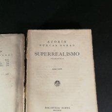 Libros antiguos: AZORÍN NUEVAS OBRAS SUPERREALISMO PRENOVELA PRIMERA EDICIÓN 1929 BIBLIOTECA NUEVA. Lote 221860891