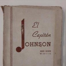 Libros antiguos: EL CAPITÁN JOHNSON. LA POTENCIA FANTASMA. W. S. CRANSTON. COLECCIÓN INTRIGA 6. AMELLER EDITOR.. Lote 221885556