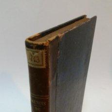 Libros antiguos: 1885 - LAUNOIS - DE L'APPAREIL URINAIRE DES VIEILLARDS (ÉTUDE ANATOMO PATHOLOGIQUE ET CLINIQUE). Lote 222023221