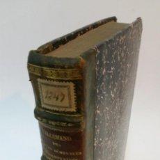 Libros antiguos: 1839 - LALLEMAND - DES PERTES SÉMINALES INVOLONTAIRES. TOME II. 1ER. PARTIE. Lote 222023633
