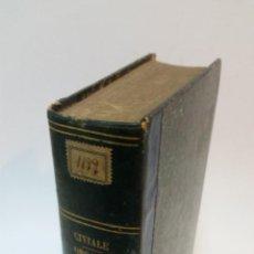 Libros antiguos: 1858 - CIVIALE - TRAITÉ PRATIQUE SUR LES MALADIES DES ORGANES GÉNITO URINAIRES I: PROSTATE, ETC. Lote 222023962