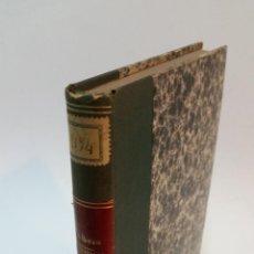 Libros antiguos: 1872 - DOLBEAU - DE LA LITHOTRITIE PÉRINÉALE OU NOUVELLE MANIERE D'OPERER LES CALCULEUX. Lote 222024553