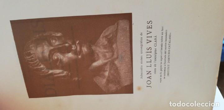 Libros antiguos: JOAN LLUIS VIVES: DIÀLECHS. TRAUDCCIÓ CATALANA. 1915 (1º ED) - Foto 2 - 222033605