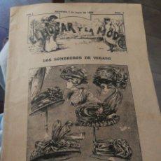 Libros antiguos: ALMANAQUE 1909 EL HOGAR Y LA MODA. Lote 222047428