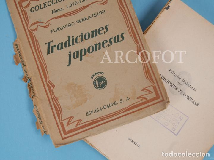Libros antiguos: COLECCIÓN UNIVERSAL Núms. 1092 - 1093 -TRADICIONES JAPONESAS - FUKUYIRO WAKATSUKI - 1929 - Foto 2 - 222054700
