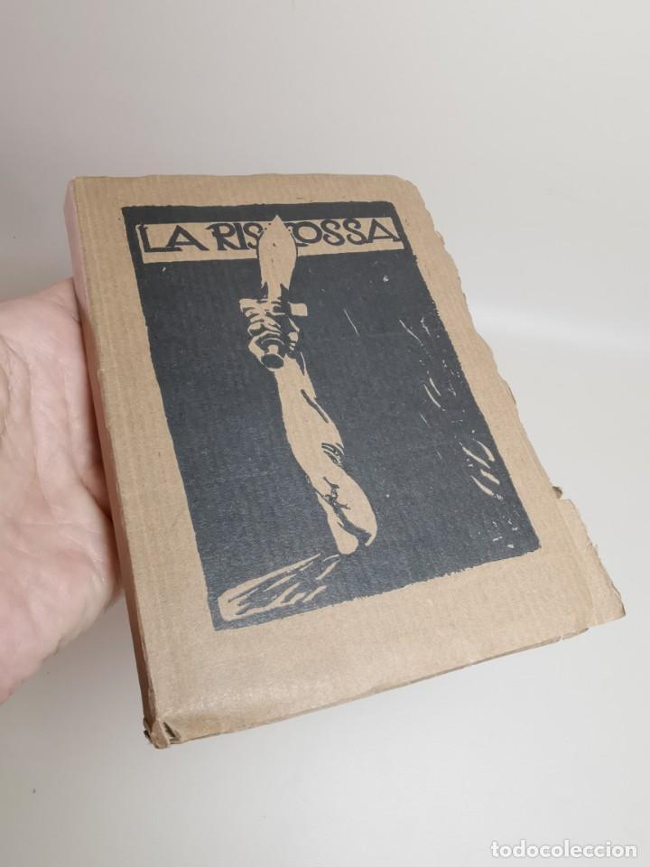 Libros antiguos: La riscossa / Gabriele DAnnunzio ; illustrated by Guilio Aristide Sartorio-1918 - Foto 3 - 222056372