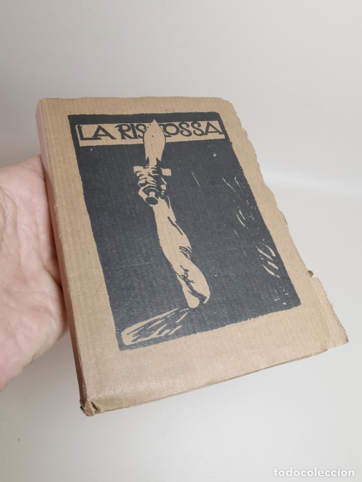LA RISCOSSA / GABRIELE D'ANNUNZIO ; ILLUSTRATED BY GUILIO ARISTIDE SARTORIO-1918 (Libros Antiguos, Raros y Curiosos - Literatura - Otros)