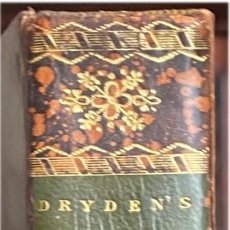 Libros antiguos: VIRGILIO. THE WORKS. DRYDEN TRANSLATION. 1807. Lote 222056713