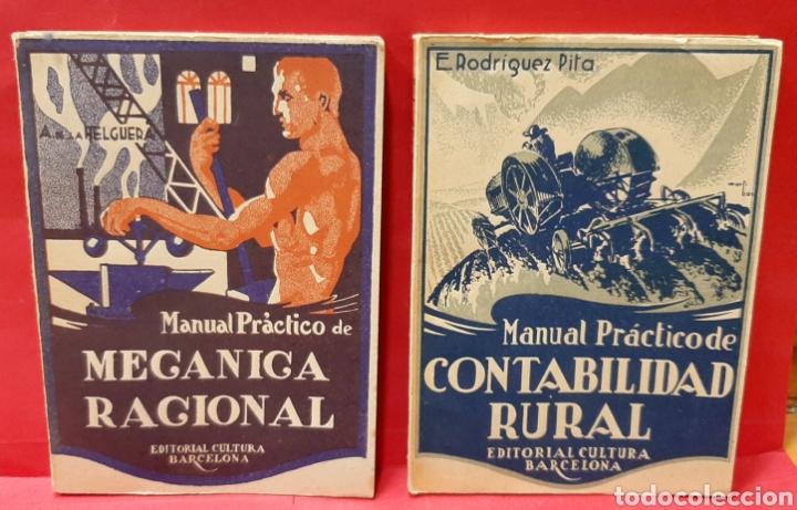 Libros antiguos: EDITORIAL CULTURA BARCELONA. 4 MANUALES. - Foto 2 - 222108550