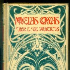 Libros antiguos: NUMULTE * NOVELAS CORTAS POR E. DE AMICIS MONTANER Y SIMÓN. Lote 222134207