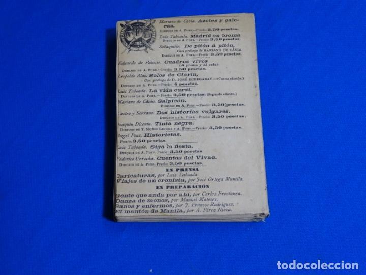 Libros antiguos: PROSA LIGERA.JOSE DE LASERNA.DIBUJOS DE ÁNGEL PONS.MADRID 1892. - Foto 3 - 222136156