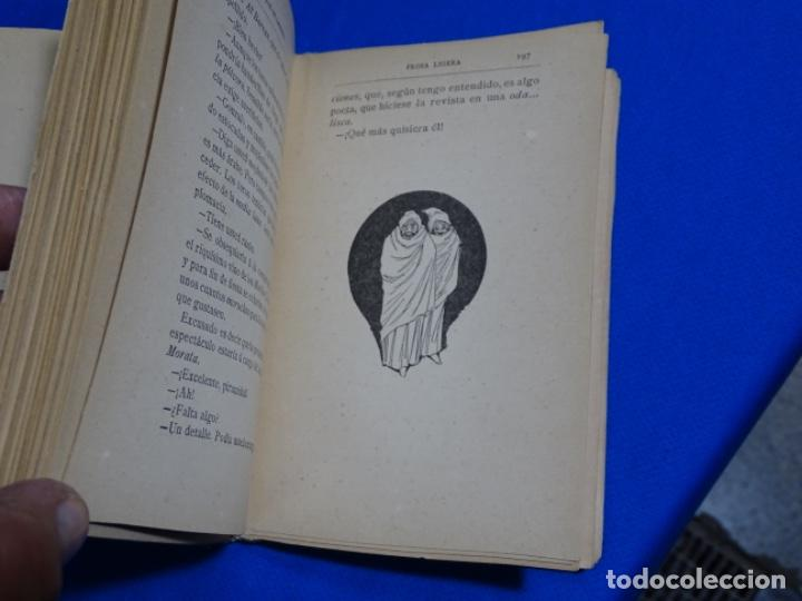 Libros antiguos: PROSA LIGERA.JOSE DE LASERNA.DIBUJOS DE ÁNGEL PONS.MADRID 1892. - Foto 4 - 222136156