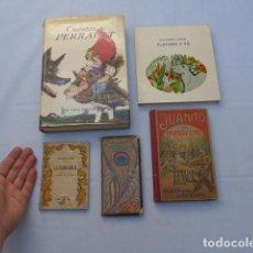Libros antiguos: * ANTIGUO LOTE DE 5 LIBROS, VARIEDAD. ORIGINAL. ZX. Lote 222175288