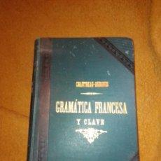 Libros antiguos: GRAMÁTICA FRANCESA Y CLAVE. Lote 222185561
