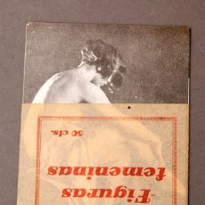 Libros antiguos: FIGURAS FEMENINAS - EROTICA - SICALIPTICA. Lote 222247082