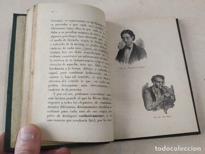 Libros antiguos: LA CORBATA Y SU MANUFACTURA - ESTUDIO HISTÓRICO, CRÍTICO Y ANECDÓTICO - P. RODÓN Y AMIGÓ - Foto 2 - 222361001