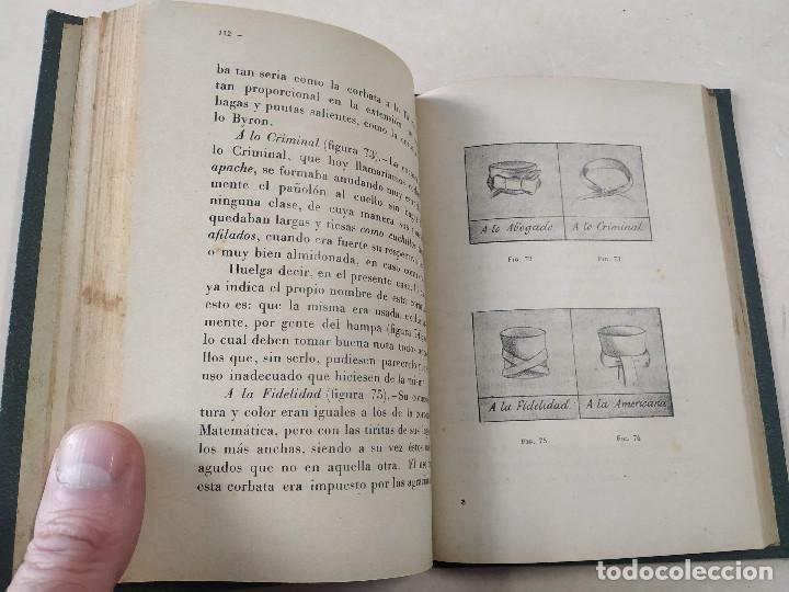 Libros antiguos: LA CORBATA Y SU MANUFACTURA - ESTUDIO HISTÓRICO, CRÍTICO Y ANECDÓTICO - P. RODÓN Y AMIGÓ - Foto 5 - 222361001