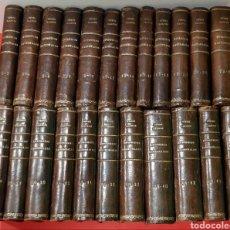Libros antiguos: EPISODIOS NACIONALES, 23 VOLÚMENES, EXLIBRIS DEL AUTOR. AÑOS 1925-1930.. Lote 222488297