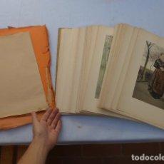 Libros antiguos: * ANTIGUO LIBRO DE LAMINAS FRANCES. COSTUMES ET COUTUMES, 1900, ORIGINAL, FRANCIA. ZX. Lote 222508267