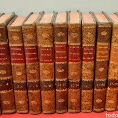 Libros antiguos: HISTORIA GENERAL DE ESPAÑA POR JUAN DE MARIANA Y CONDE DE TORENO. 11 VOLÚMENES, FALTA EL 17-18.. Lote 222541162
