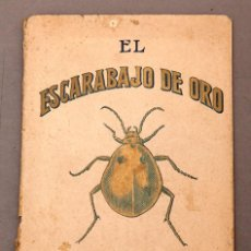 Libros antiguos: EDGARD ALLAN POE ; EL ESCARABAFO DE ORO - BELLA EDICIÓN - CIRCA 1900. Lote 222559365