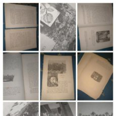 Libros antiguos: ISABEL II VIAJE A ANDALUCIA CAPITULO NUMERO X GRANADA CON GRABADOS. Lote 222591991