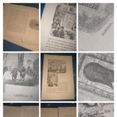 Libros antiguos: ISABEL II VIAJE A ANDALUCIA CAPITULO NUMERO IX JAEN CON GRABADOS ESCUDO SANTA FAZ. Lote 222593031