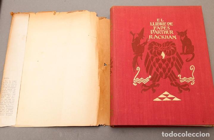 Libros antiguos: ARTHUR RACKHAM - EL LLIBRE DE FADES - 1ª ed. - 1934 - MOLT RAR - CONSERVA SOBRECOBERTA - Foto 4 - 222667645