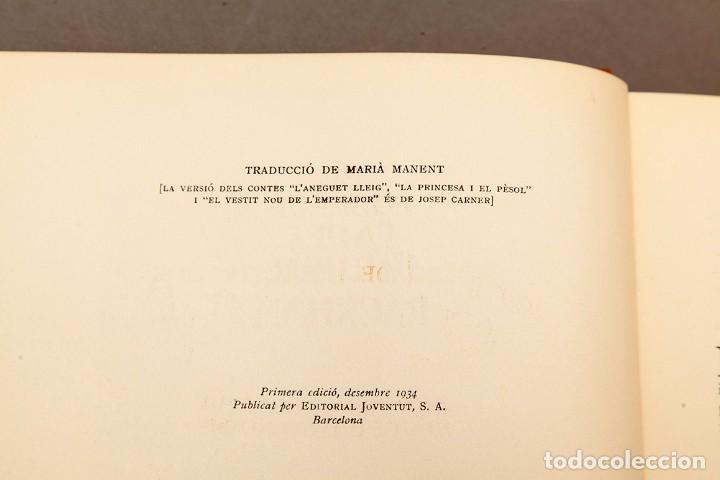Libros antiguos: ARTHUR RACKHAM - EL LLIBRE DE FADES - 1ª ed. - 1934 - MOLT RAR - CONSERVA SOBRECOBERTA - Foto 7 - 222667645