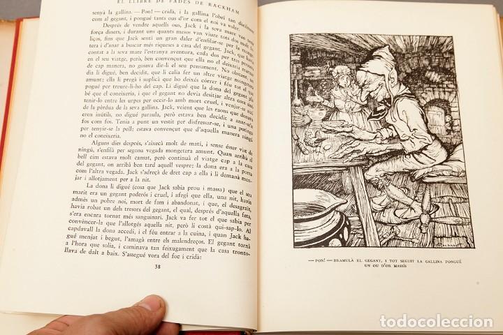 Libros antiguos: ARTHUR RACKHAM - EL LLIBRE DE FADES - 1ª ed. - 1934 - MOLT RAR - CONSERVA SOBRECOBERTA - Foto 10 - 222667645
