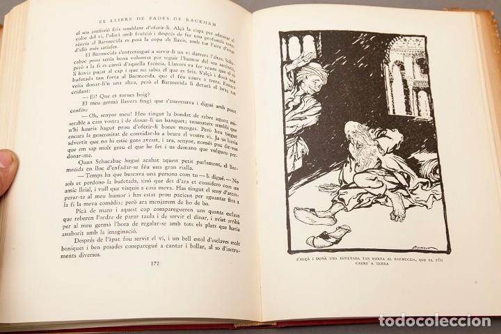 Libros antiguos: ARTHUR RACKHAM - EL LLIBRE DE FADES - 1ª ed. - 1934 - MOLT RAR - CONSERVA SOBRECOBERTA - Foto 11 - 222667645