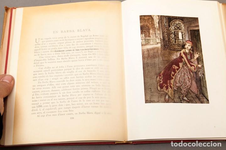 Libros antiguos: ARTHUR RACKHAM - EL LLIBRE DE FADES - 1ª ed. - 1934 - MOLT RAR - CONSERVA SOBRECOBERTA - Foto 13 - 222667645