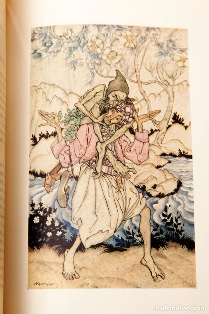 Libros antiguos: ARTHUR RACKHAM - EL LLIBRE DE FADES - 1ª ed. - 1934 - MOLT RAR - CONSERVA SOBRECOBERTA - Foto 15 - 222667645