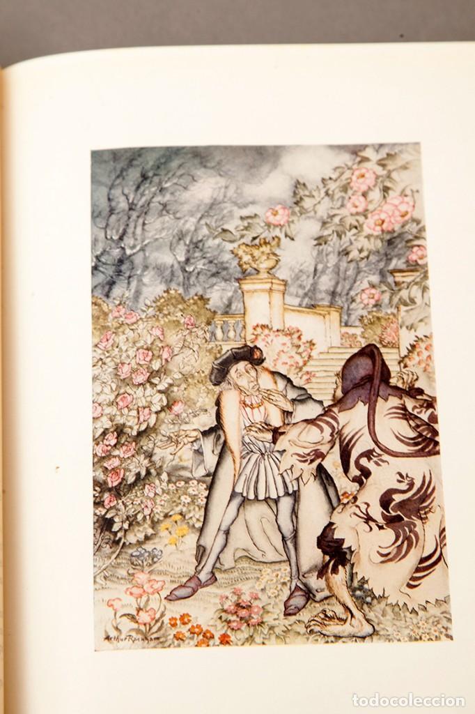Libros antiguos: ARTHUR RACKHAM - EL LLIBRE DE FADES - 1ª ed. - 1934 - MOLT RAR - CONSERVA SOBRECOBERTA - Foto 16 - 222667645