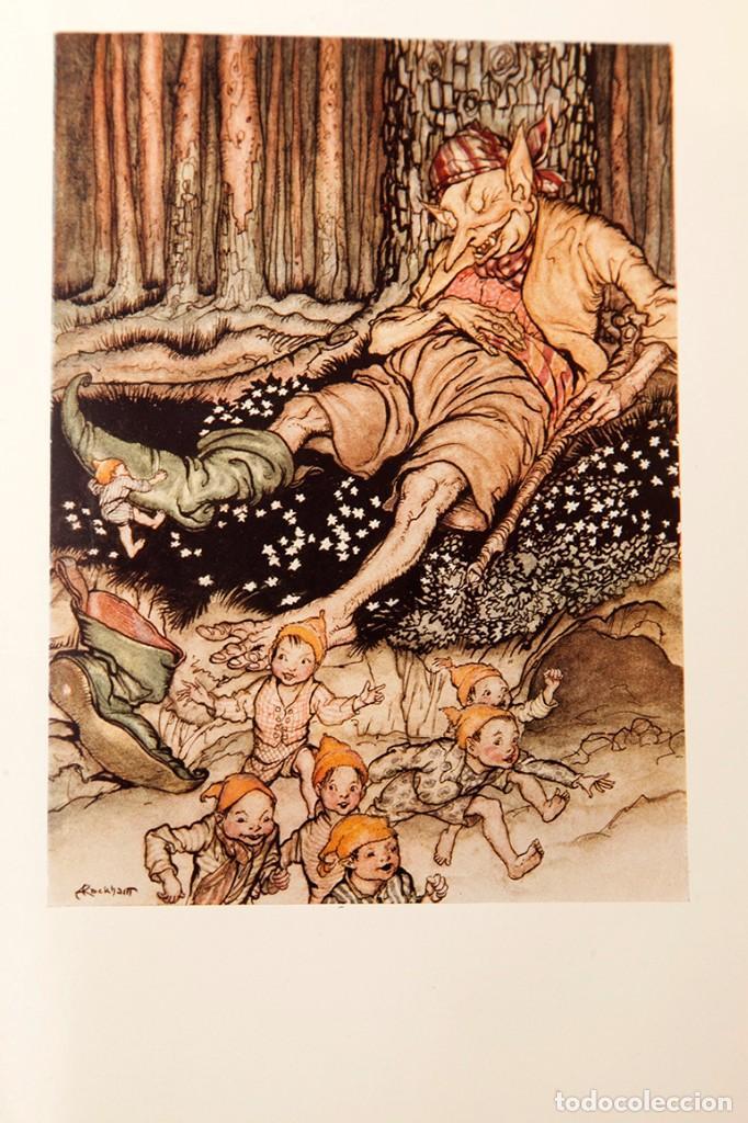 Libros antiguos: ARTHUR RACKHAM - EL LLIBRE DE FADES - 1ª ed. - 1934 - MOLT RAR - CONSERVA SOBRECOBERTA - Foto 17 - 222667645