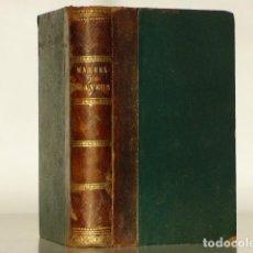 Libros antiguos: MANUEL COMPLET DU GRAVEUR - MANUAL DEL GRABADOR - ARTE DEL GRABADO - MANUELS RORET - PARIS 1865. Lote 222701297