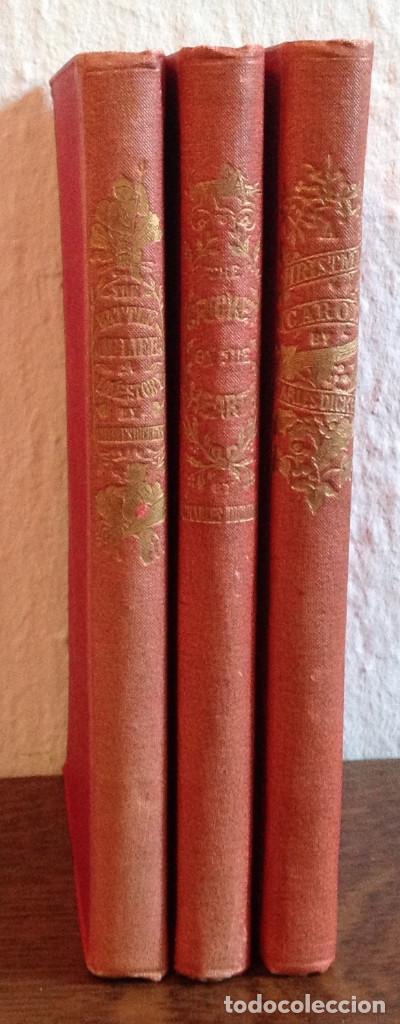 3 LIBROS 1886,1887 CHARLES DICKENS . BUEN ESTADO. (Libros Antiguos, Raros y Curiosos - Otros Idiomas)