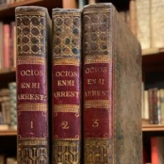 Libros antiguos: OCIOS EN MI ARRESTO Ó CORRESPONDENCIA MITOLÓGICA. GERONIMO MARTIN DE BERNARDO. Lote 222743811