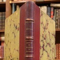 Libros antiguos: GESTAS DE RODRIGO EL CAMPEADOR. (GESTA RODERICI CAMPIDOCTI). Lote 222744211
