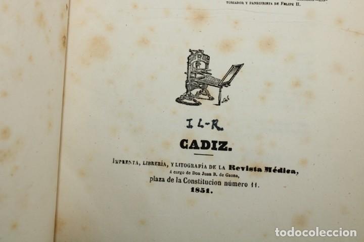 Libros antiguos: 1851 / HISTORIA DE LOS PROTESTANTES ESPAÑOLES Y DE PERSECUCION POR FELIPE II / ADOLFO DE CASTRO - Foto 8 - 222747607