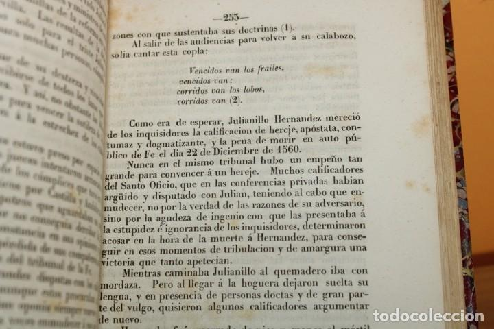 Libros antiguos: 1851 / HISTORIA DE LOS PROTESTANTES ESPAÑOLES Y DE PERSECUCION POR FELIPE II / ADOLFO DE CASTRO - Foto 10 - 222747607
